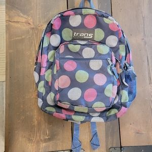 Trans by JanSport Multicolored Dots Backpack